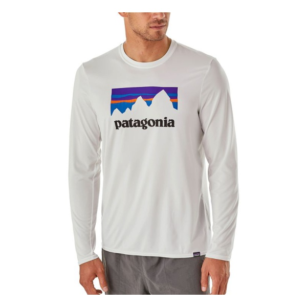 Купить Футболка Patagonia Capilene Daily Long-Sleeve Graphic