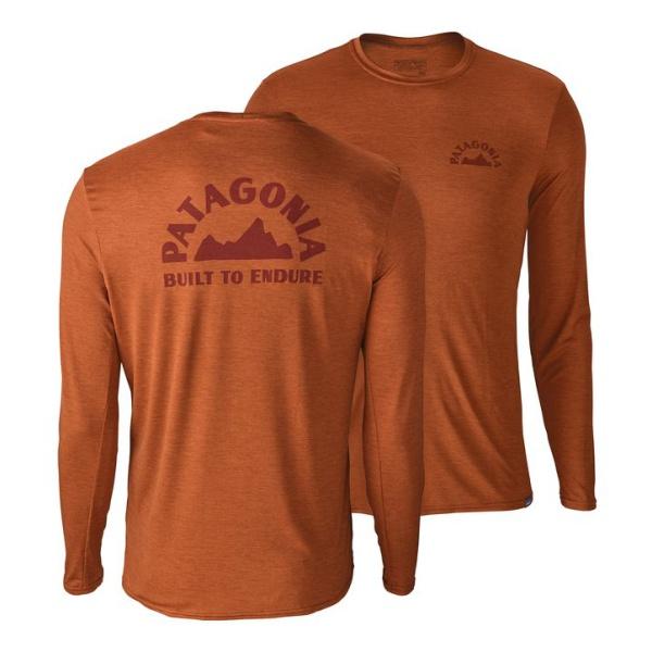 Футболка Patagonia Patagonia Cap Daily L/S Graphic T-Shirt флисовая толстовка patagonia pata men s r2 jacket