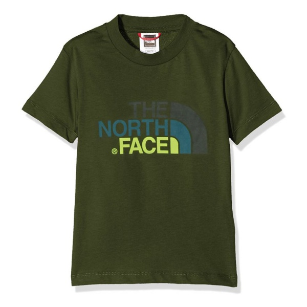 Футболка The North Face The North Face Youth Short Sleeve Easy Tee детская умные часы apple watch series 3 38mm gold with pink sand sport band mqkw2ru a