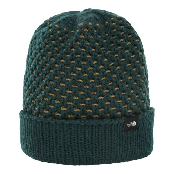 Шапка The North Face The North Face Shinsky Beanie темно-зеленый OS