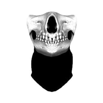 Маска ветрозащитная Funtomask Ghost 2 серый ONE маска для дыхания