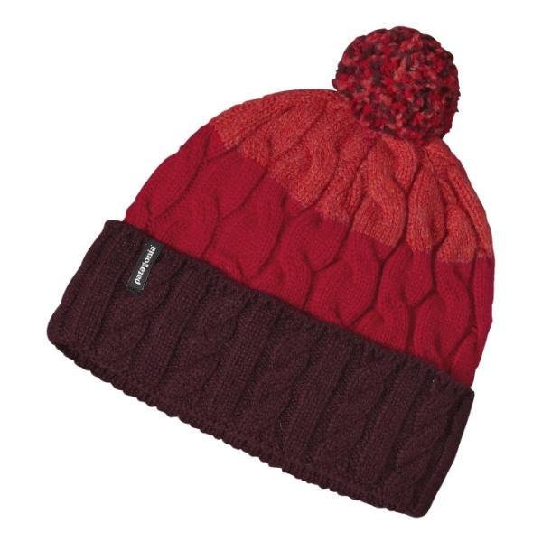 Шапка Patagonia Pom Beanie красный