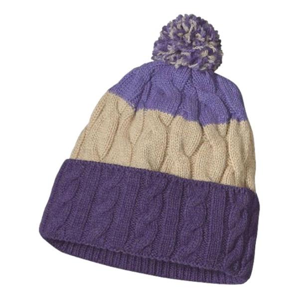 Шапка Patagonia Patagonia Pom Beanie фиолетовый шапка patagonia patagonia lined knit headband белый all