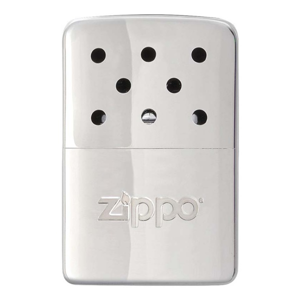 Грелка ZIPPO Каталитическая Zippo, сталь с покрытием High Polish Chrome серебристый 51х15х74