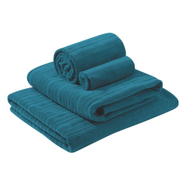 Полотенце походное PackTowl PackTowl Luxe L синий HAND(42Х92СМ) полотенце походное packtowl packtowl luxe красный body 64x137см