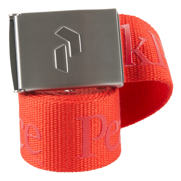 Ремень Peak Performance Rider Belt красный ONE