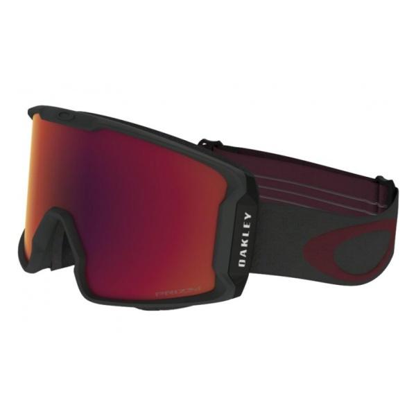 Горнолыжная маска Oakley Oakley Line Miner темно-красный