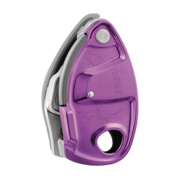 Устройство страховочное Petzl Petzl GRIGRI + фиолетовый страховочное устройство petzl petzl asap lock