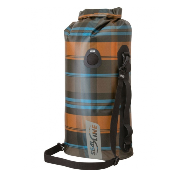 Гермомешок SealLine Sealline Discovery Deck Bag 50L светло-зеленый 50л