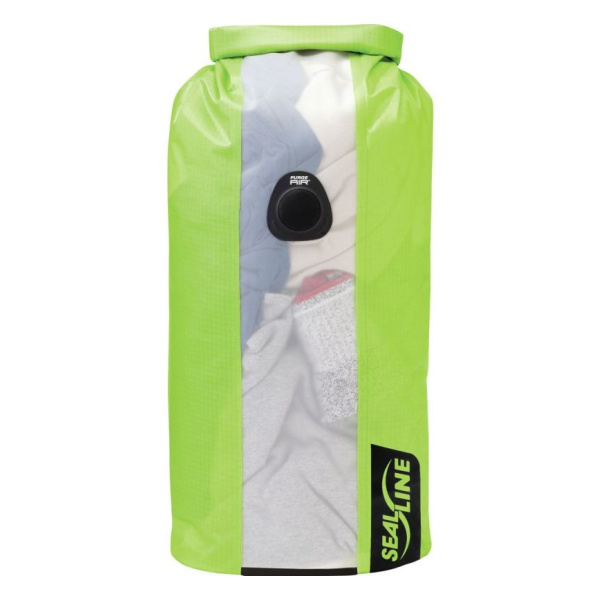 Гермомешок SealLine Sealline Bulkhead View Dry Bag 20L зеленый 20л