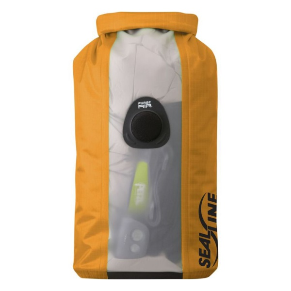Гермомешок SealLine Sealline Bulkhead View Dry Bag 10L оранжевый 10L
