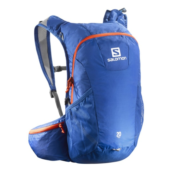 Рюкзак Salomon Salomon Trail 20 синий 20л рюкзак salomon salomon trail 20 galet светло зеленый 20л