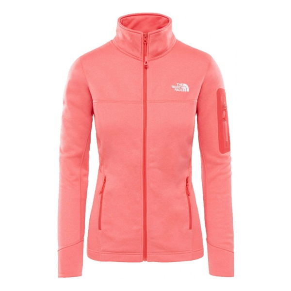Куртка The North Face The North Face Kyoshi Full Zip женская розовый L куртка the north face the north face kyoshi full zip женская