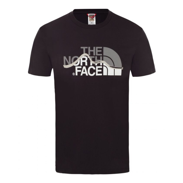 Футболка The North Face The North Face S/S Mountain Line Tee футболка мужская the north face m s s easy tee цвет серый t92tx3jbv размер s 48
