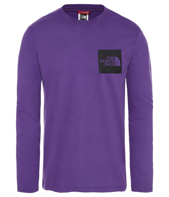 Футболка The North Face The North Face L/S Fine Tee футболка the north face the north face box s s tee детская