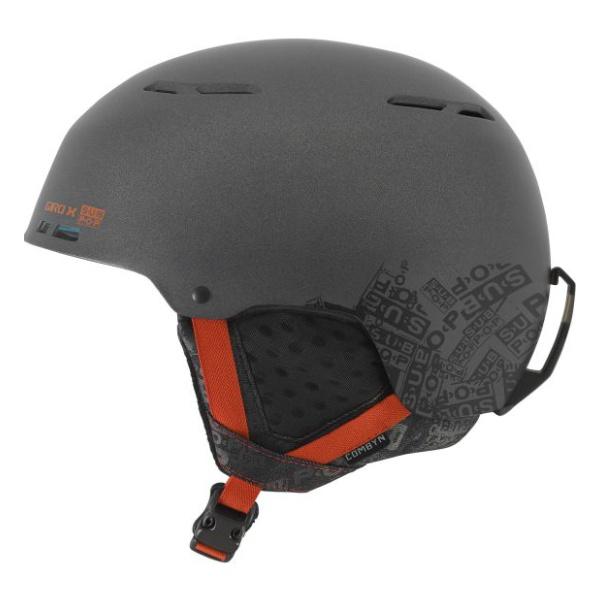 Горнолыжный шлем Giro Combyn темно-серый L(59/62.5CM) шлем tech team plasma 550 m blue white