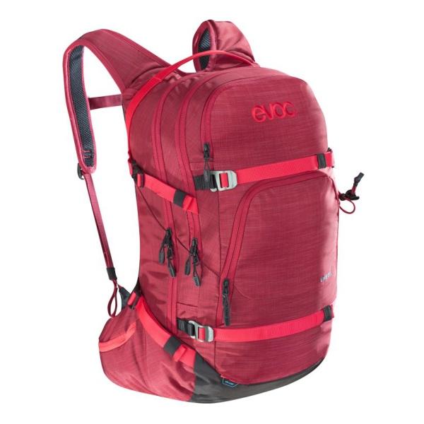 Рюкзак EVOC Evoc Line 28L красный 28л