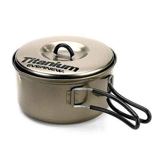 Кастрюля титановая Evernew Non-Stick 0.9 л