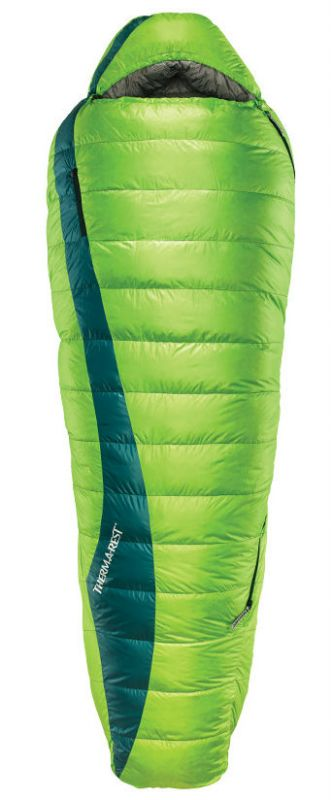 Спальник Therm-A-Rest Therm-a-Rest Questar 20F/-6C зеленый LONG