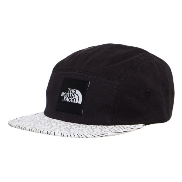 Кепка The North Face The North Face Five Panel Cap черный OS the north face ski tuke iv os t0a6w6