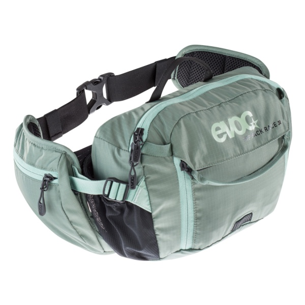 Сумка поясная EVOC Evoc Hip Pack Race 3L светло-зеленый 3л цена