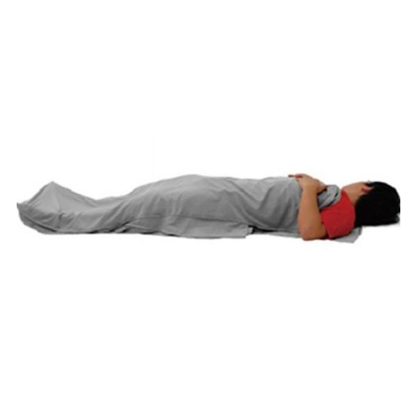 Вкладыш в спальник Greenhermit Ultralight Travel Liner серый 80х200см