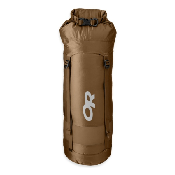Гермомешок Outdoor Research OR Airpurge Dry SK 35L коричневый 35л