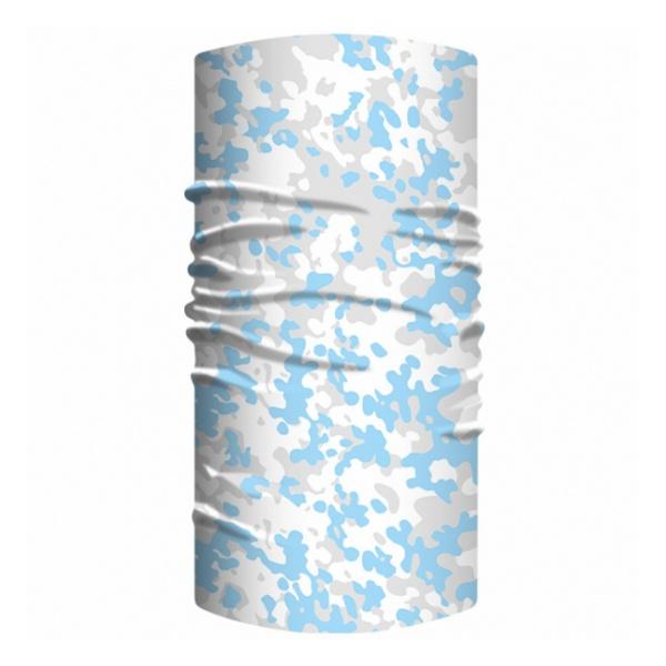 Бандана Funtomask Funtomask Lite W-Camo светло-голубой ONE* балаклава funtomask funtomask windblock черный one