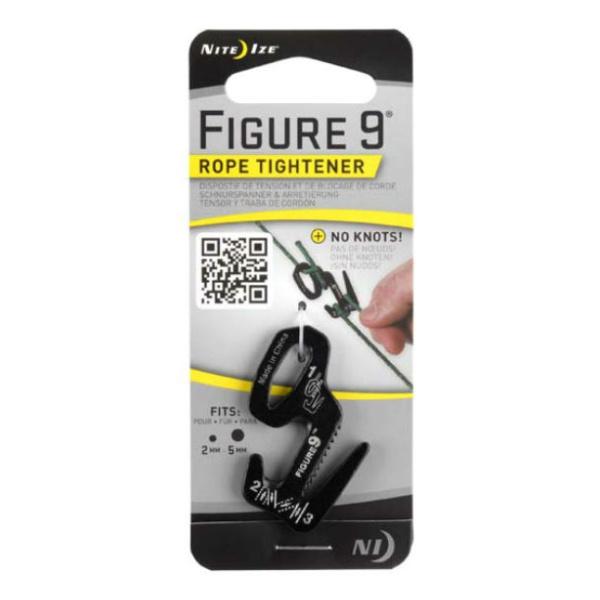 Крепление для веревки Nite Ize Nite lze 9 черный nite ize figure 9 large stainless rope