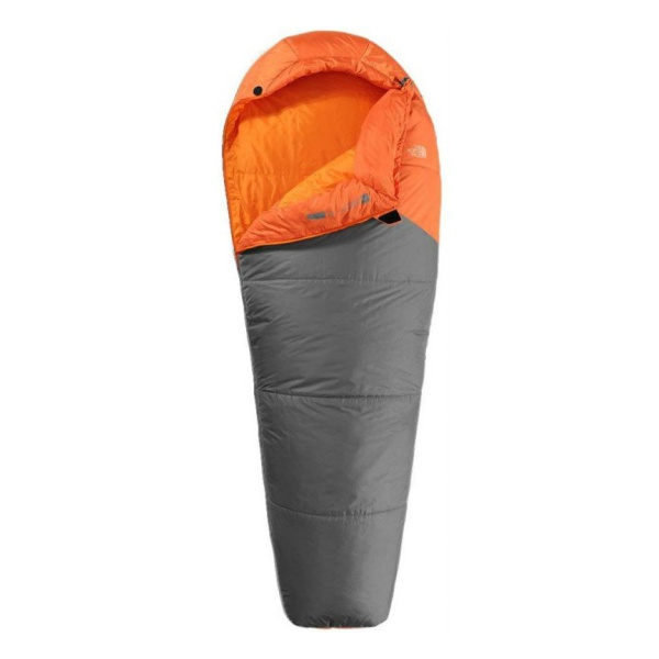 Спальник The North Face The North Face Aleutian 40/4 правый Reg оранжевый REG(RH)