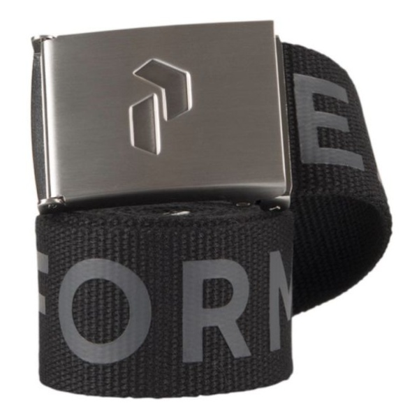 Ремень Peak Performance Peak Performance Rider Belt черный ONE