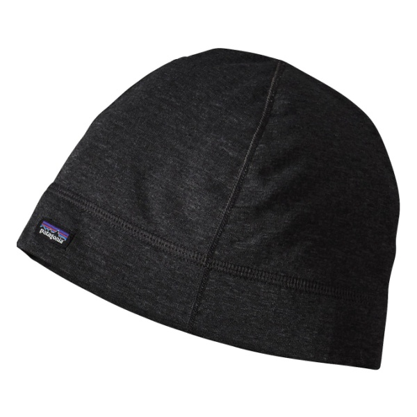 Шапка Patagonia Patagonia Capilene Thermal Waight Scull черный ONE шапка patagonia patagonia lined beanie серый one