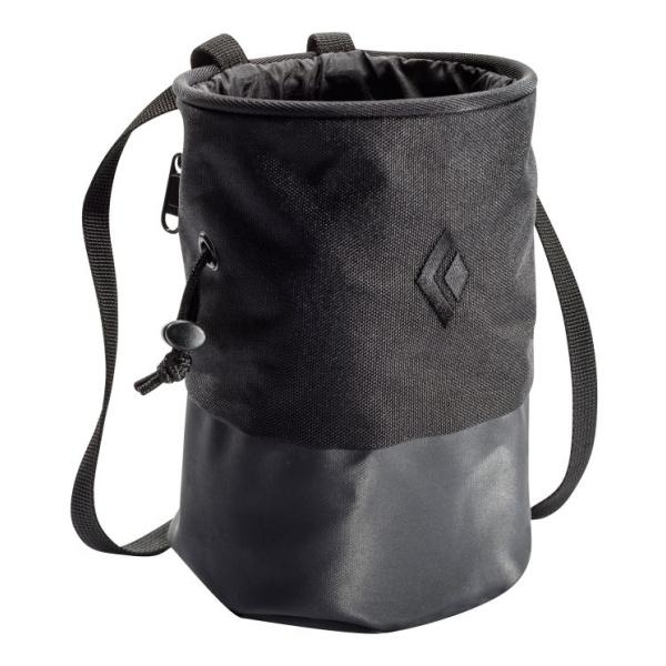 Мешочек для магнезии Black Diamond Black Diamond Mojo Zip Calk Bag черный M/L