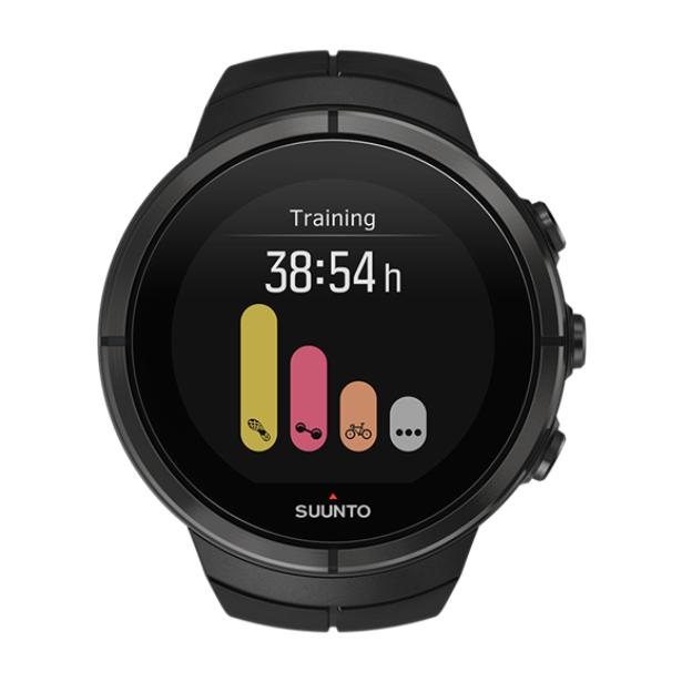 Часы Suunto Spartan Ultra All Black Titanium черный