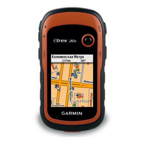 Приемник навигационный Garmin Garmin Etrex 20x GPS Glonass Russia