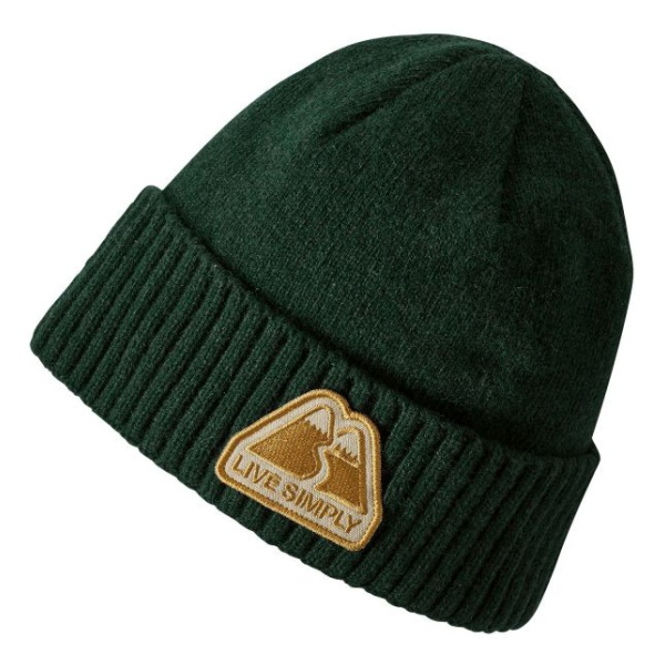Шапка Patagonia Patagonia Brodeo Beanie темно-зеленый ONE* шапка patagonia patagonia lined knit headband белый all