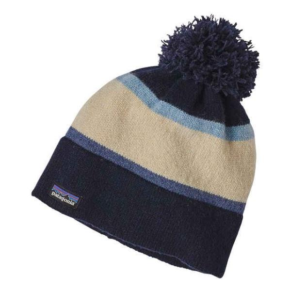Шапка Patagonia Patagonia Vintage Town Beanie темно-синий ONE шапка patagonia patagonia lined beanie серый one