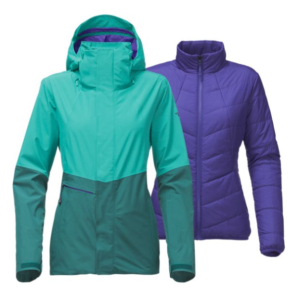 Куртка The North Face The North Face Garner Triclimate 3 in1 женская женские куртки