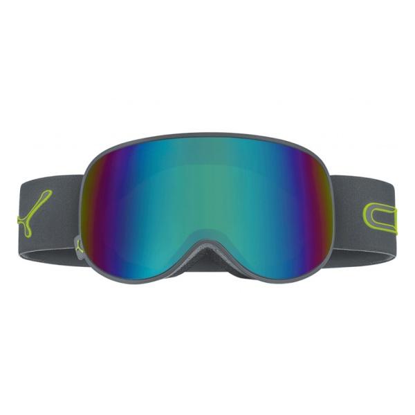 Горнолыжная маска Cebe Cebe Attraction темно-серый L очки cebe cebe ice8000 темно серый