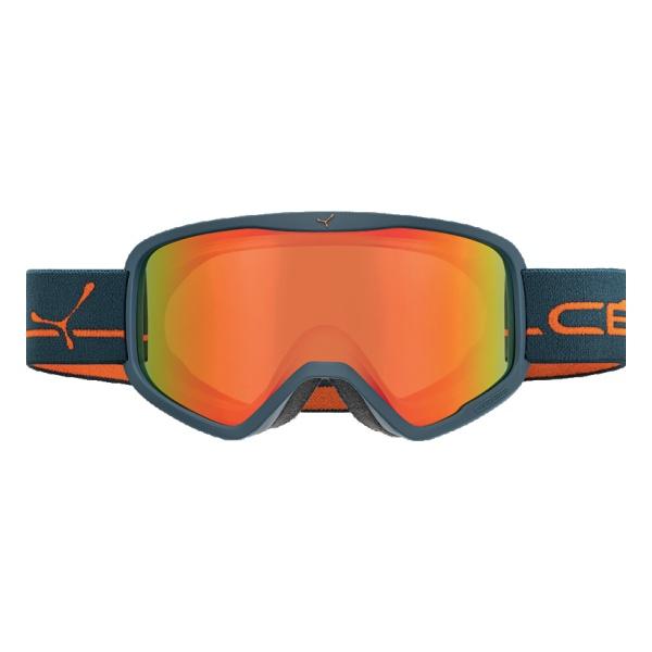 Горнолыжная маска Cebe Cebe Striker L темно-синий L цена