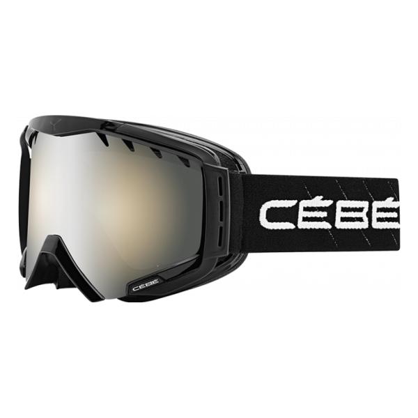Горнолыжная маска Cebe CEBE Hurricane L черный L горнолыжная маска cebe cebe fanatic l черный
