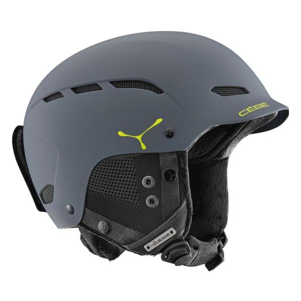 Горнолыжный шлем Cebe Cebe Dusk темно-серый 55/58