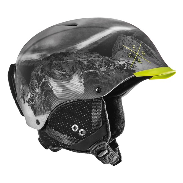 Горнолыжный шлем Cebe Cebe Contest Visor Pro темно-серый 53/57 шлем горнолыжный head vico black