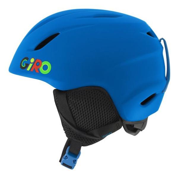 Горнолыжный шлем Giro Giro Launch детский синий S(52/55.5CM) велосипедний шлем giro 16 reverb mtb матовый титан синий размер l gi7067246