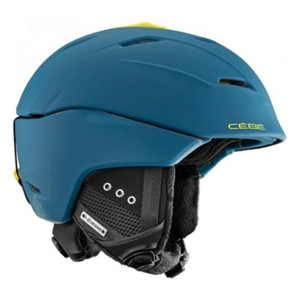 Горнолыжный шлем Cebe Cebe Atmosphere Deluxe синий 58/61+ шлем горнолыжный head vico black