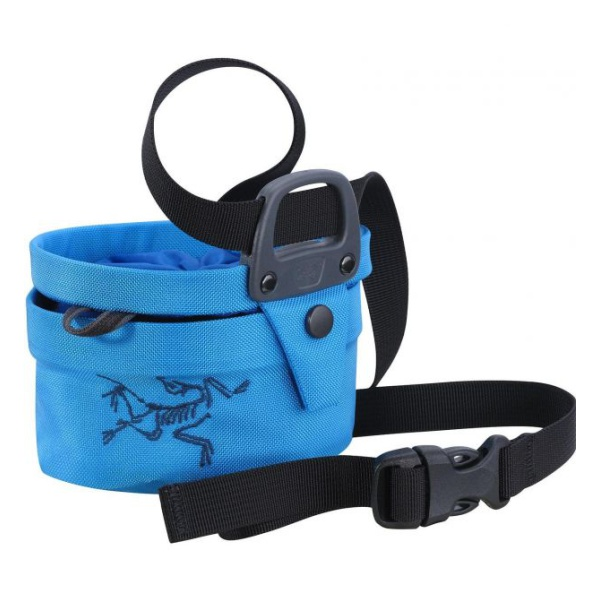 Мешочек для магнезии Arcteryx Arcteryx Aperture Chalk Bag S темно-голубой SMALL genuine leather men bags hot sale male small messenger bag man fashion crossbody shoulder bag men s travel new bags li 1850