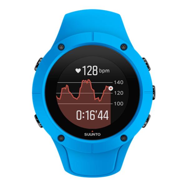 Часы Suunto Suunto Spartan Trainer Wrist HR Blue синий умные часы suunto spartan sport wrist hr copper