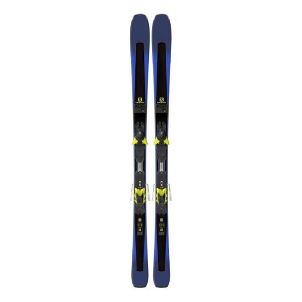 Горные лыжи Salomon Salomon M XDR 80 Ti + M XT12 C90 темно-синий (17/18) лыжи беговые tisa top universal с креплением цвет желтый белый черный рост 182 см