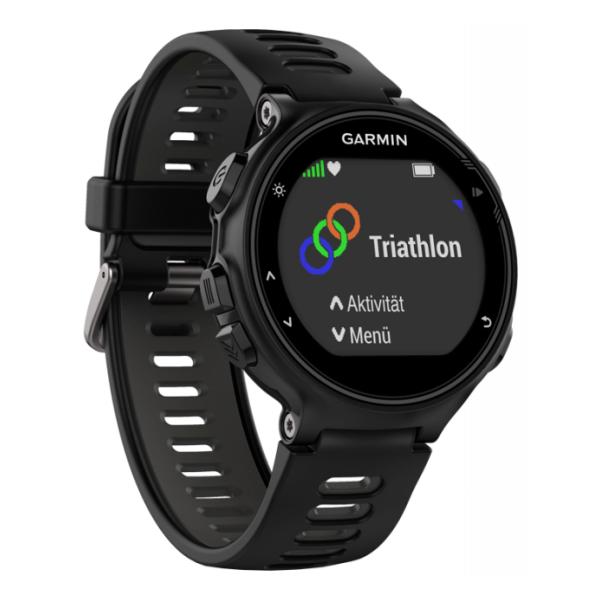 Часы Garmin Garmin Forerunner 735XT темно-серый