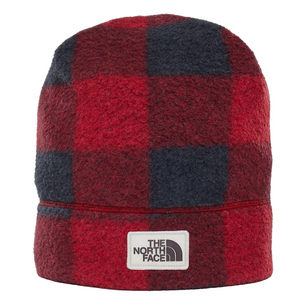 Шапка The North Face The North Face Sherpa Beanie темно-красный OS the north face triple cable pom beanie красный one t0cln6